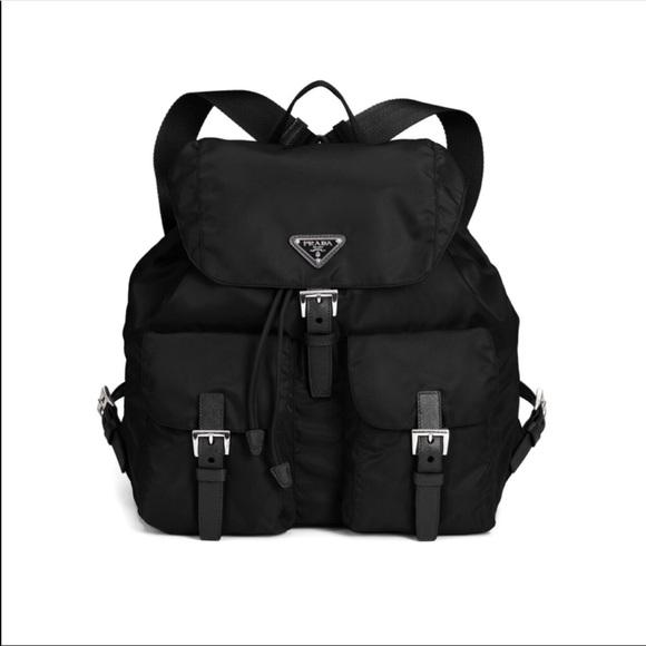 Prada Bags   Vintage Nylon Backpack   Poshmark 450b07f11d